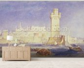 Rhodes, c.1823-24 (w/c & bodycolour on paper) wall mural living room preview