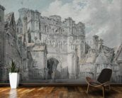 Christ Church Gate, Canterbury, 1793-94 (w/c on paper) wall mural kitchen preview