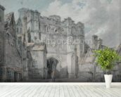 Christ Church Gate, Canterbury, 1793-94 (w/c on paper) wall mural in-room view