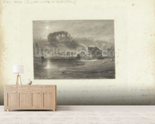 Colchester, Essex (engraving) wallpaper mural