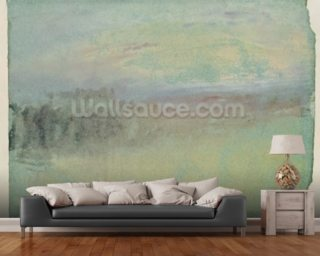 Coastal scene. c.1830 (w/c on paper) wall mural