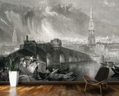 Inverness, engraved by W. Miller, 1836 (engraving) wallpaper mural kitchen preview