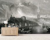 Inverness, engraved by W. Miller, 1836 (engraving) wallpaper mural living room preview