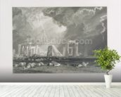 Stone Henge, 1829 (etching & engraving) wall mural in-room view