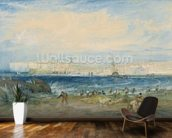 Margate, c.1822 (w/c & scraping out on wove paper) mural wallpaper kitchen preview