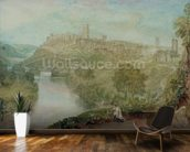 Richmond, Yorkshire (w/c on paper) wallpaper mural kitchen preview