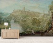 Richmond, Yorkshire (w/c on paper) wallpaper mural living room preview