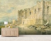 Newark-upon-Trent, c.1796 (w/c over graphite on paper) mural wallpaper living room preview