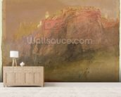Luxembourg, c.1825 (w/c, gouache & pen on paper) mural wallpaper living room preview