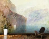 Tells Chapel, Lake Lucerne, c.1841 (w/c with pen on paper) wall mural kitchen preview