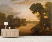 The Thames near Windsor, c.1807 wall mural living room preview