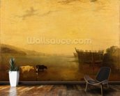 Teignmouth Harbour, c.1812 wall mural kitchen preview