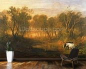 The Forest of Bere, c.1808 wallpaper mural kitchen preview