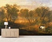 The Forest of Bere, c.1808 wallpaper mural living room preview