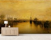 Chichester Canal, c.1829 mural wallpaper living room preview