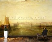 Brighton from the Sea, c.1829 wall mural kitchen preview