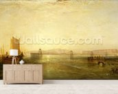Brighton from the Sea, c.1829 wall mural living room preview