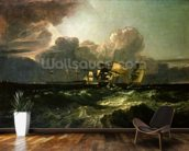 Ships Bearing up for Anchorage (The Egremont Sea Piece), 1802 wallpaper mural kitchen preview