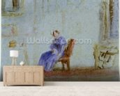 Spilt Milk, c.1828 (w/c and gouache) wall mural living room preview