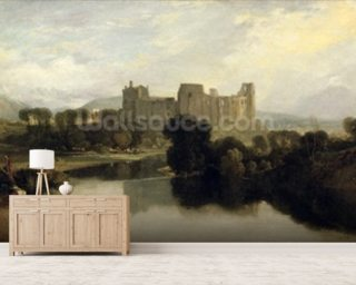 Cockermouth Castle, c.1810 mural wallpaper