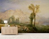 The Bright Stone of Honour (Ehrenbreitstein) and the Tomb of Marceau, from Byrons Childe Harold, 1835 wall mural living room preview
