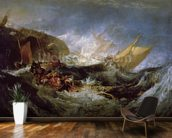 Wreck of a Transport Ship wall mural kitchen preview