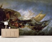 Wreck of a Transport Ship wall mural living room preview