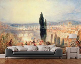 Florence from near San Miniato, 1828 wallpaper mural