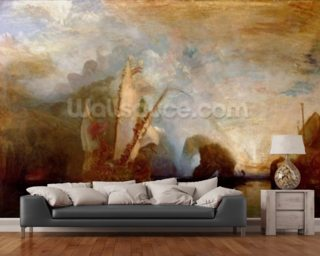 Ulysses Deriding Polyphemus, 1829 (oil on canvas) (for detail see 99614) mural wallpaper