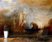 Ulysses Deriding Polyphemus, 1829 (oil on canvas) (for detail see 99614) mural wallpaper kitchen preview