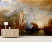 Ulysses Deriding Polyphemus, 1829 (oil on canvas) (for detail see 99614) mural wallpaper living room preview