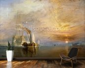 The Fighting Temeraire, 1839 (oil on canvas) wall mural kitchen preview