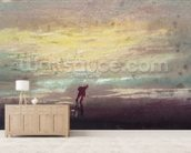 Study of Sunlight (watercolour) wallpaper mural living room preview