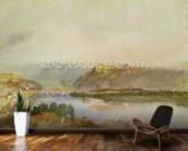 Givet from the North, c.1839 (gouache and w/c) mural wallpaper kitchen preview