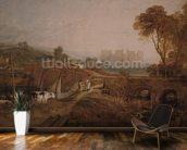 Conway Castle wallpaper mural kitchen preview
