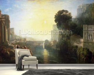 Dido building Carthage Wall Mural Wallpaper Wall Murals Wallpaper