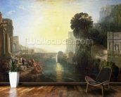 Dido building Carthage, or The Rise of the Carthaginian Empire, 1815 (oil on canvas) wall mural kitchen preview
