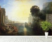 Dido building Carthage, or The Rise of the Carthaginian Empire, 1815 (oil on canvas) wall mural in-room view