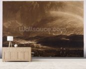 Peat Bog, Scotland, engraved by George Clint (1770-1854) wallpaper mural living room preview
