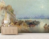 Andernach, 1817 (w/c with pen and black ink on wove paper) mural wallpaper living room preview