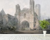St. Augustines Gate, Canterbury, c.1797 (w/c over pencil on wove paper) wall mural in-room view