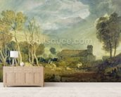 Patterdale Old Church, c.1810-15 (w/c over graphite on paper) wall mural living room preview