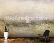 Off the Nore: Wind and Water, 1840-5 (oil on paper laid down on canvas) mural wallpaper kitchen preview