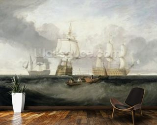 The Victory Returning from Trafalgar Mural Wallpaper Wall Murals Wallpaper