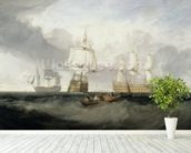 The Victory Returning from Trafalgar, 1806 (oil on canvas) wall mural in-room view
