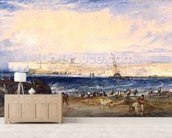 Margate, c.1822 (w/c on paper) wall mural living room preview