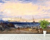 Margate, c.1822 (w/c on paper) wall mural in-room view