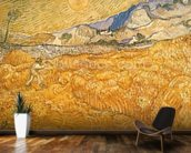 The Harvester (oil on canvas) wallpaper mural kitchen preview