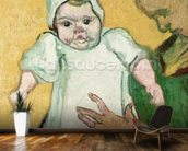 Madame Roulin and her baby, November 1888 (oil on canvas) mural wallpaper kitchen preview