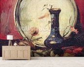 Still Life with Flowers, c.1886 (oil on canvas) wallpaper mural living room preview